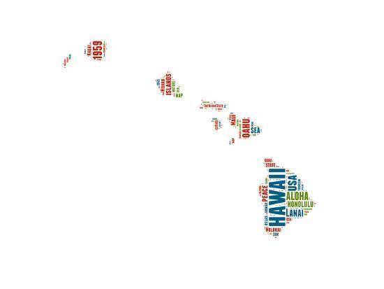 naxart-hawaii-word-cloud-map