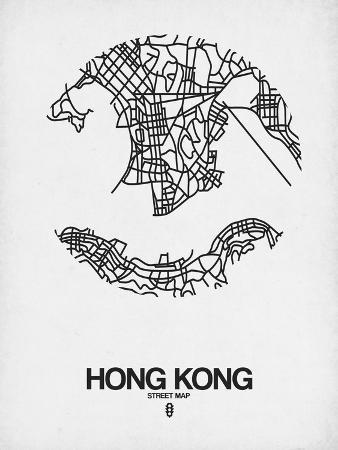 naxart-hong-kong-street-map-white