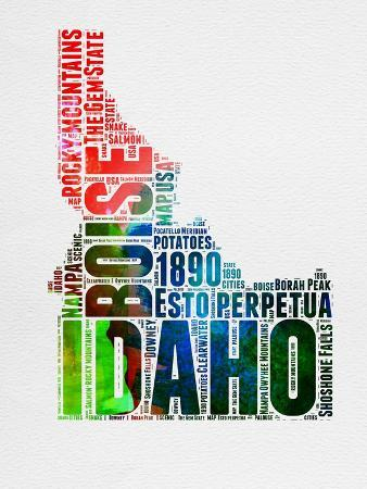 naxart-idaho-watercolor-word-cloud