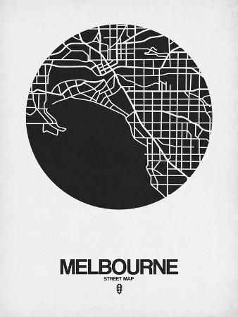 naxart-melbourne-street-map-black-on-white