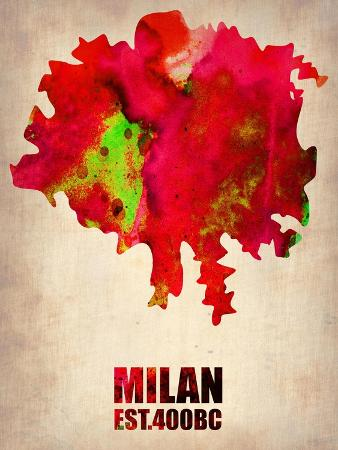 naxart-milan-watercolor-map