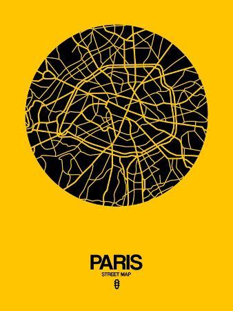 naxart-paris-street-map-yellow
