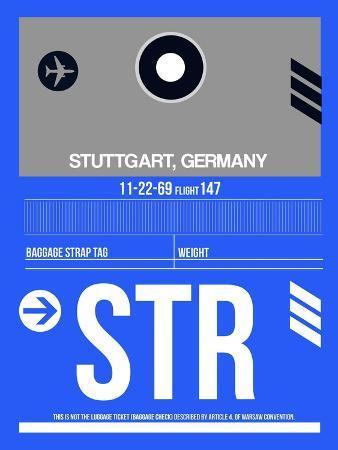 naxart-str-stuttgart-luggage-tag-ii