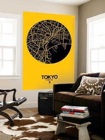 naxart-tokyo-street-map-yellow