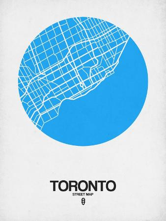 naxart-toronto-street-map-blue