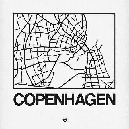 naxart-white-map-of-copenhagen