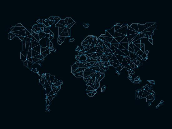 naxart-world-map-blue-wire