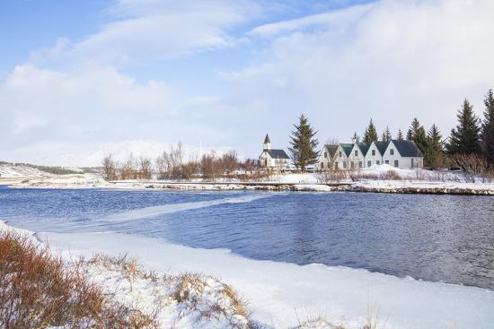 neale-clark-thingvallabaer-and-church-by-the-river-oxara-thingvellir-national-park-iceland