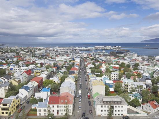 neale-clarke-city-centre-and-faxafloi-bay-from-hallgrimskirkja-reykjavik-iceland-polar-regions