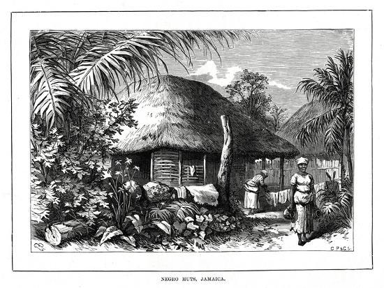 negro-huts-jamaica-19th-century