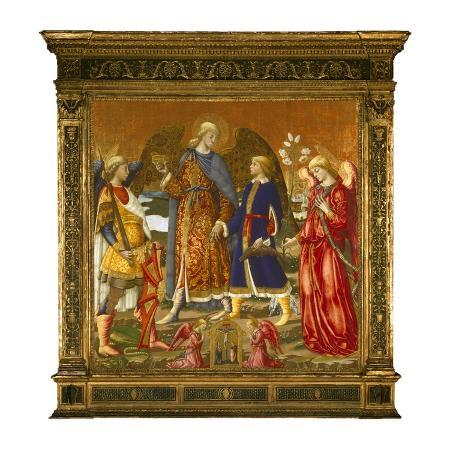 neri-di-bicci-tobias-and-three-archangels-1471-tempera-oil-gold-and-silver-on-panel