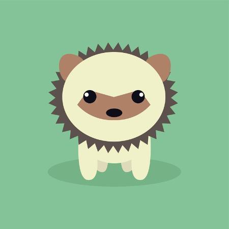 nestor-david-ramos-diaz-cute-cartoon-porcupine
