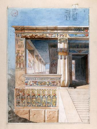 nestor-l-hote-ancient-egyptian-temple-19th-century