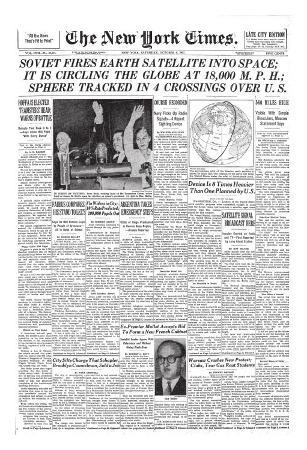 new-york-times-october-5-1957-soviet-fires-satellite-into-space