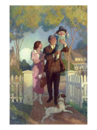 newell-convers-wyeth-arriving-home