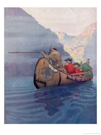 newell-convers-wyeth-hawkeye-and-companions