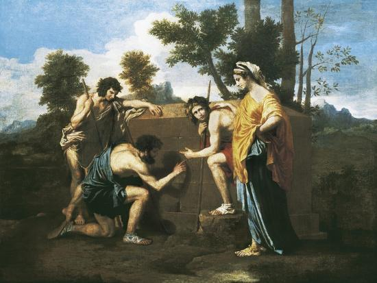 nicolas-poussin-arcadian-shepherds-et-in-arcadia-ego