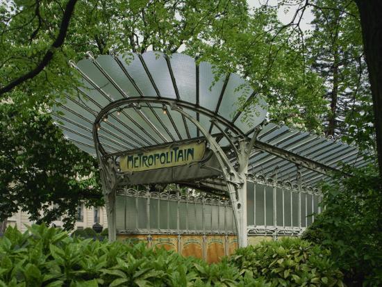 nigel-francis-art-nouveau-metro-entrance-paris-france-europe