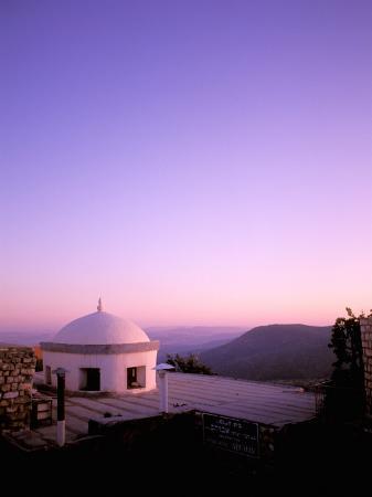 nik-wheeler-view-at-sunset-safad-galilee-israel