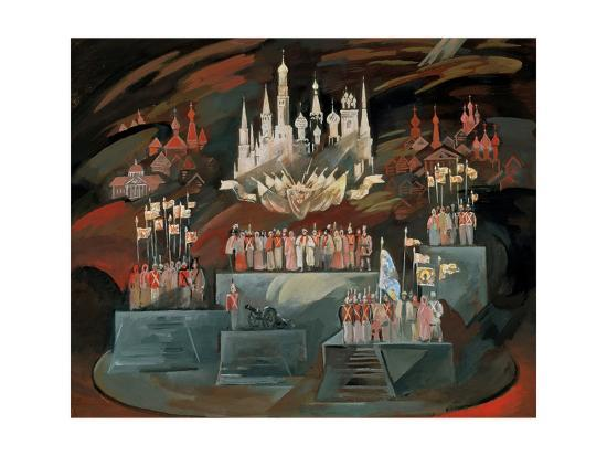 nikolai-nikolayevich-zolotaryev-stage-design-for-the-opera-war-and-peace-by-s-prokofiev-1981
