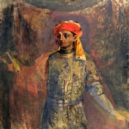 nikolai-sapunov-portrait-of-mikhail-kuzmin-1911-12