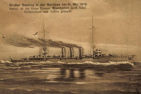 nordsee-31-mai-1916-kreuzer-wiesbaden-versunken