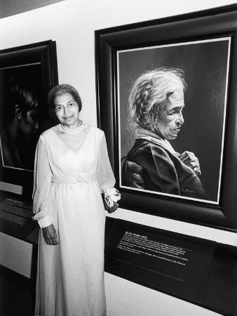 norman-hunter-rosa-parks-salute-to-black-women-in-art-1978