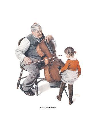 norman-rockwell-a-meeting-of-minds