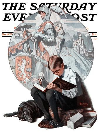 norman-rockwell-age-of-romance-saturday-evening-post-cover-november-10-1923