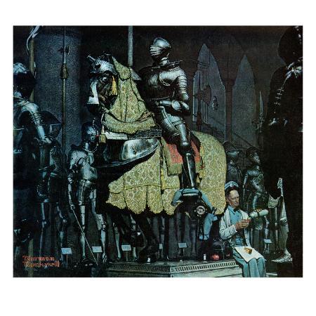 norman-rockwell-armor-november-3-1962