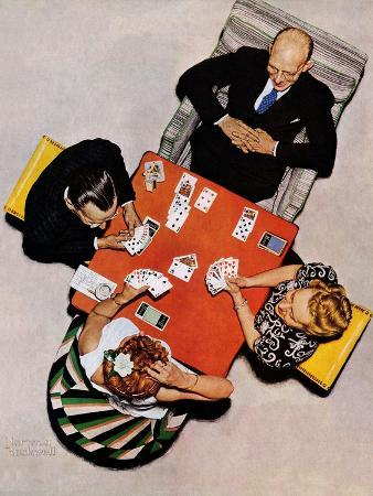 norman-rockwell-bridge-game-or-playing-cards-may-15-1948