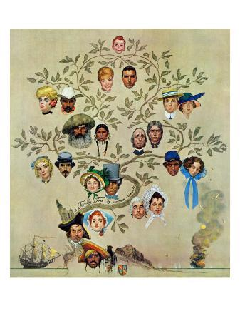 norman-rockwell-family-tree-october-24-1959