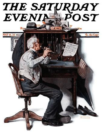 norman-rockwell-flutist-or-spring-song-saturday-evening-post-cover-may-16-1925