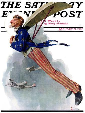 norman-rockwell-flying-uncle-sam-saturday-evening-post-cover-january-21-1928