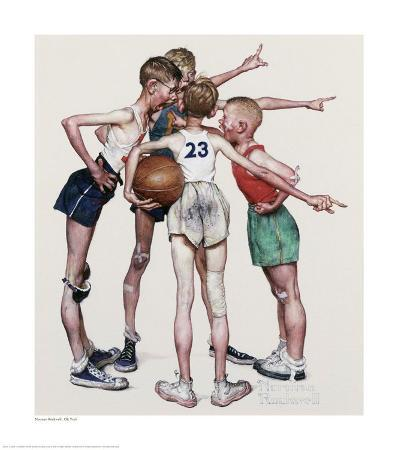 norman-rockwell-four-sporting-boys-oh-yeah