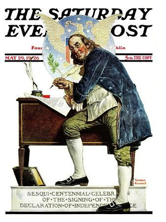 norman-rockwell-independence-or-ben-franklin-saturday-evening-post-cover-may-29-1926