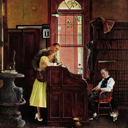 norman-rockwell-marriage-license-june-11-1955