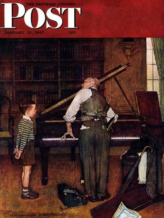 norman-rockwell-piano-tuner-saturday-evening-post-cover-january-11-1947