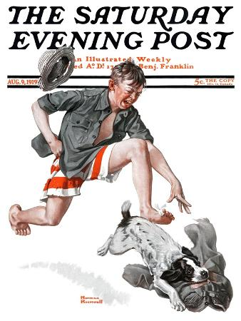 norman-rockwell-runaway-pants-saturday-evening-post-cover-august-9-1919