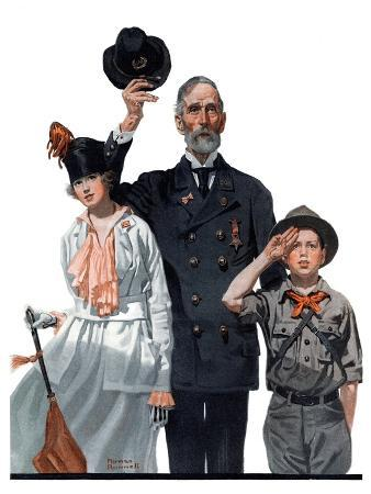 norman-rockwell-salute-to-colors-may-12-1917
