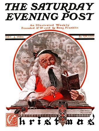 norman-rockwell-santa-s-expenses-saturday-evening-post-cover-december-4-1920