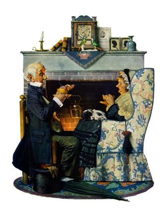 norman-rockwell-tea-for-two-or-tea-time-october-22-1927