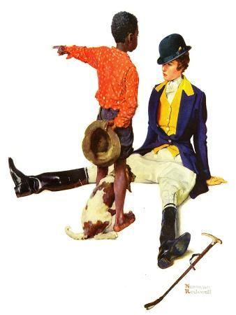 norman-rockwell-thrown-from-a-horse-march-17-1934