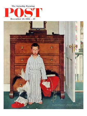 norman-rockwell-truth-about-santa-or-discovery-saturday-evening-post-cover-december-29-1956