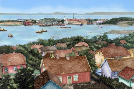 norway-horten-19th-century-view-of-the-city-with-the-port-and-arsenal-of-the-state-with-the