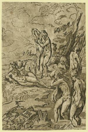 nymphs-bathing