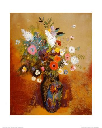 odilon-redon-bouquet-of-flowers