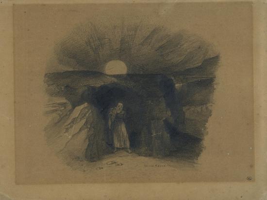 odilon-redon-caverne-d-ou-sort-un-homme
