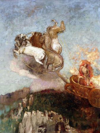 odilon-redon-the-chariot-of-apollo-1907-1908