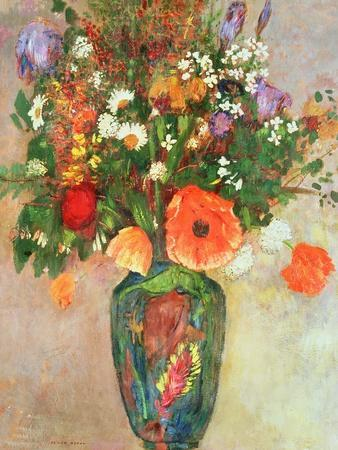 vase de fleurs giclee print by odilon redon at. Black Bedroom Furniture Sets. Home Design Ideas